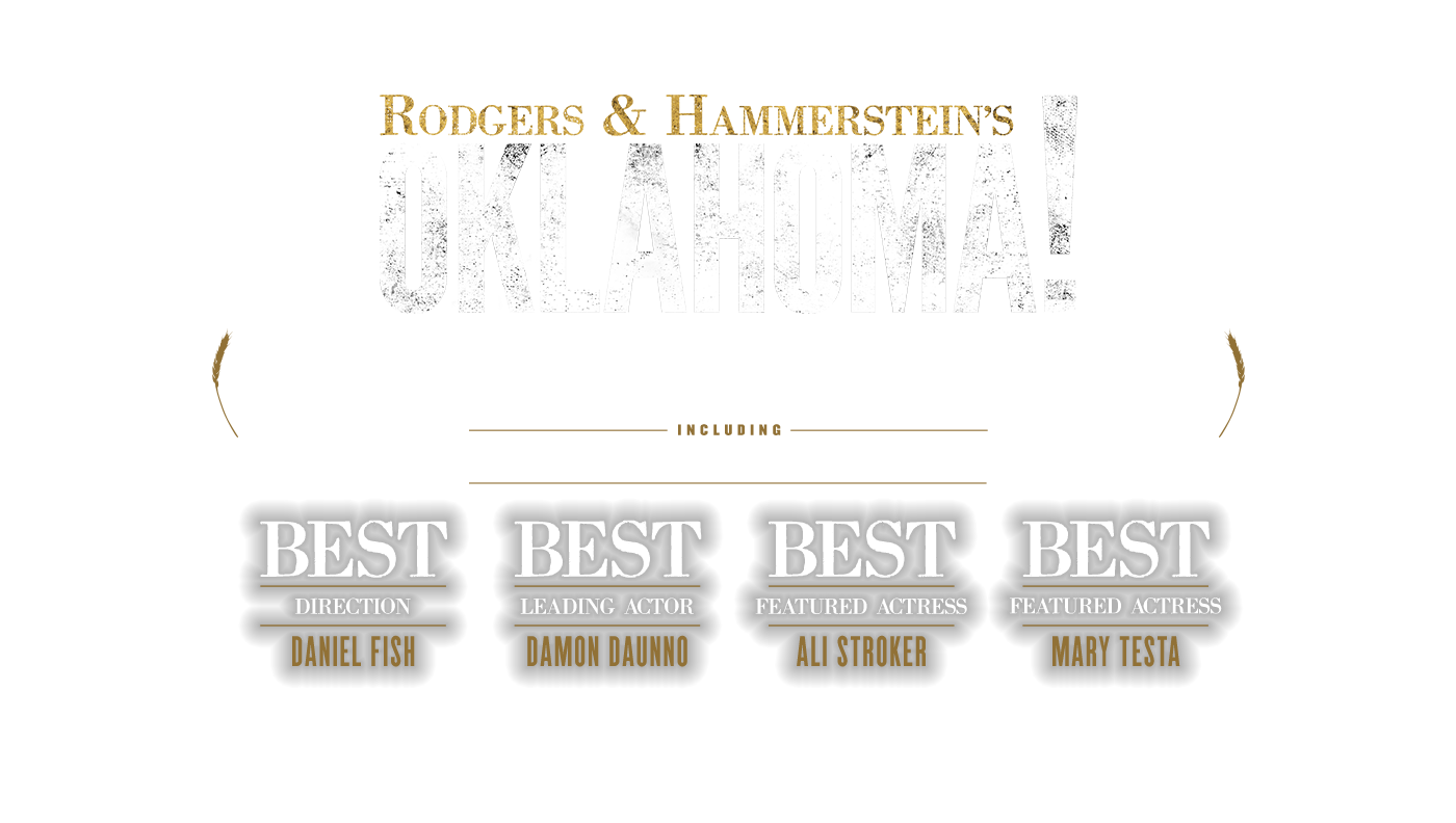 Rodgers & Hammerstein's OKLAHOMA! Director and Actor Tony Award Nominations