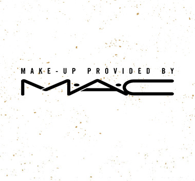 Make-Up Provided by MAC Logo